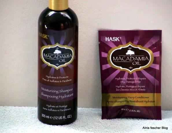 HASK Macadamia Öl: Shampoo und Deep Conditioner