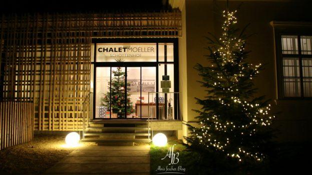 Weihnachtsfeier im Chalet Moeller