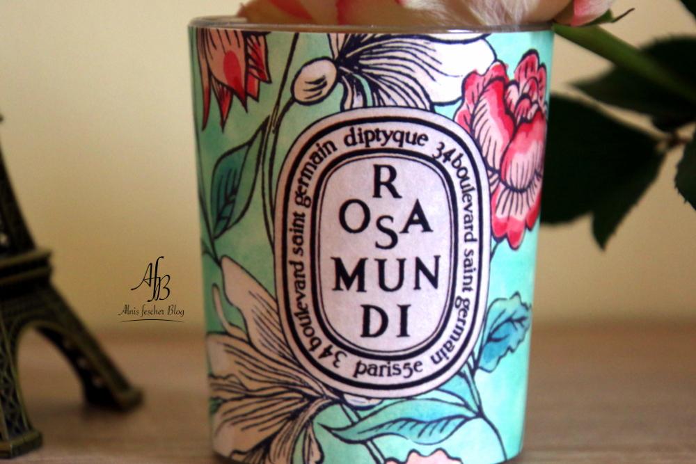 Rosa Mundi Kerze von Diptyque - Limited Edition