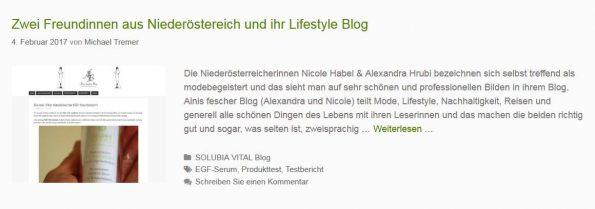 Solubia-Vital Blog