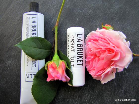Handcreme und Mandel/Kokos Lippenpflege von L:A BRUKET