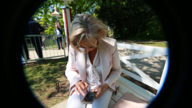Outfit: Rosa Spaziergang durch Laxenburg