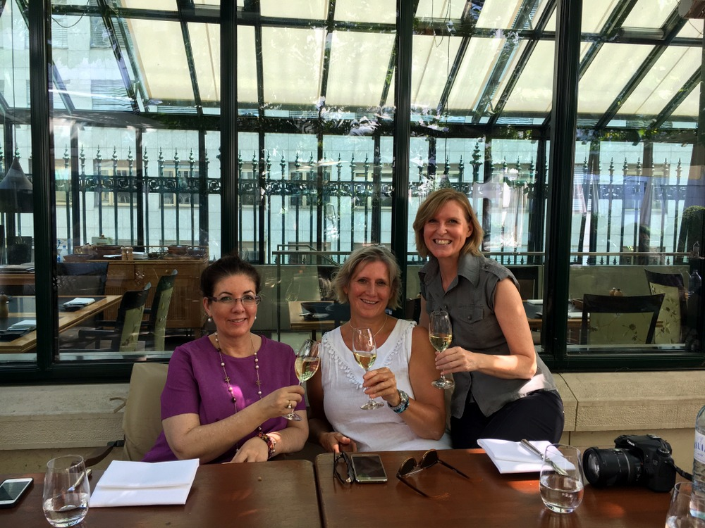 Clementine im Glashaus: Lunch mit den Ladies