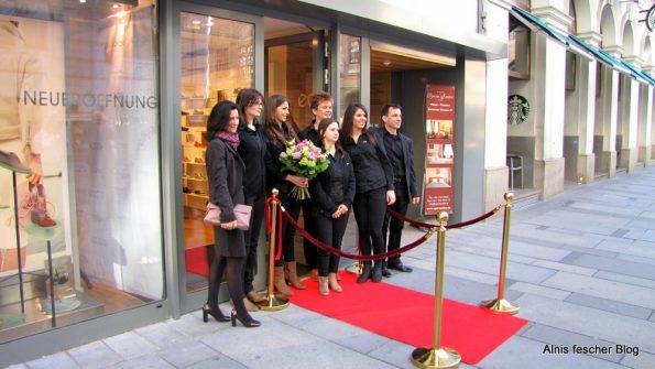 ecco Store Eröffnung in Wienecco Store Eröffnung in Wien