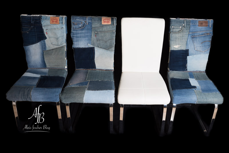 fashion on a chair upcycling sesselhussen alnis fescher blog. Black Bedroom Furniture Sets. Home Design Ideas
