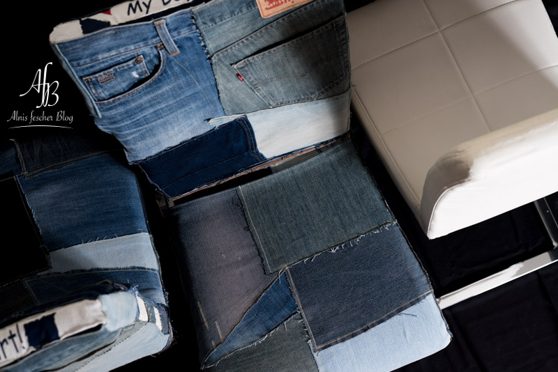 Fashion on a chair - Upcycling Sesselhussen
