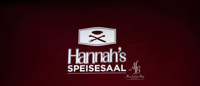 """""""Freitag""""- Event in Hannah's Speisesaal"""