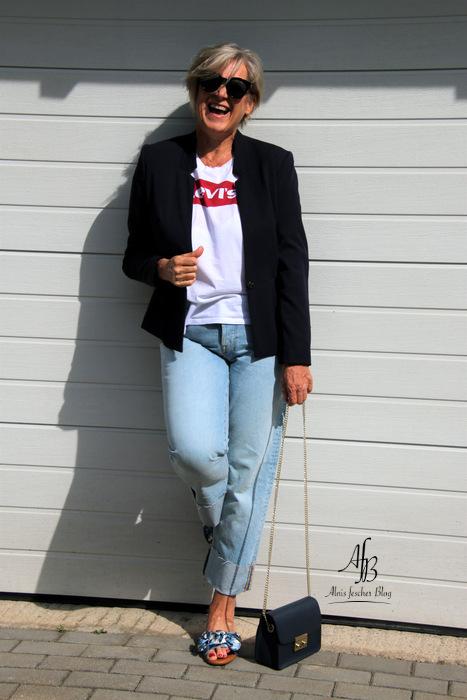 Lässiger Casual Look mit Levi's Shirt