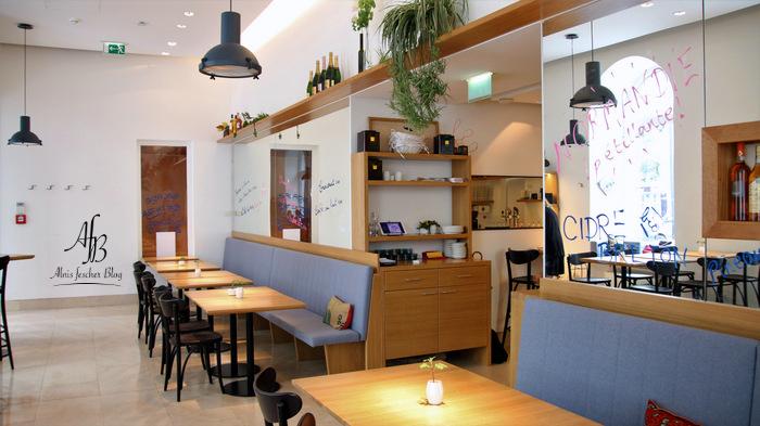 Café Gourmand im neuen Midi Café & Bistrot in der Wipplingerstraße