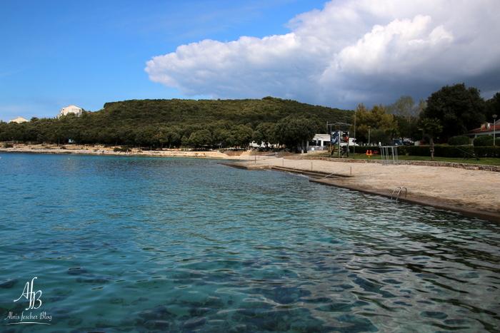 Erste Ausfahrt mit Azzuro auf die Halbinsel Vrsar in Istrien, Kroatien